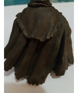 Action figure Removable brown tex-plastic rubberish Cape, possibly Star ... - $5.00