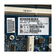 HP Envy 17 17-J 17T-J000 Intel HM87 740M/2G Motherboard 720266-001 72026... - $108.00