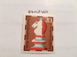 Berlin Welfare Chess 20+10p mnh 1972           stamps - $1.20