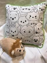 Disney Tsum Tsum Lot Cushion Decorative Pillow & Doll Bbb - $20.01