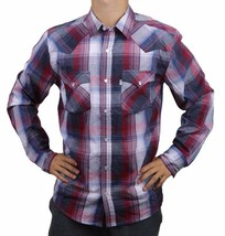 NEW LEVI'S MEN'S CLASSIC COTTON CASUAL BUTTON UP LONG SLEEVE PLAID 3LYLW6072
