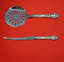 Violet by Wallace Sterling Silver Tomato Serving Set 2-Piece Custom Made   - $129.00