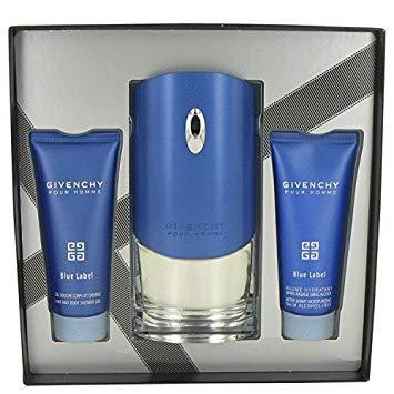 Givenchy blue label cologne gift set