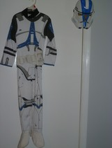 Child STAR WARS STORMTROOPERS HALLOWEEN COSTUME ONE SIZE FITS MOST 5 - 6 - $13.00