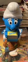 1983 Milton Bradley Vintage Smurf Spin-A-Round Board Game with Box Card ... - $13.50