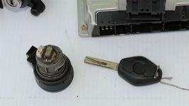 01 BMW 325Ci E46 MT 5sp M54 ECU ECM EWS DME Ignition Trunk Door GloveBox Key image 8