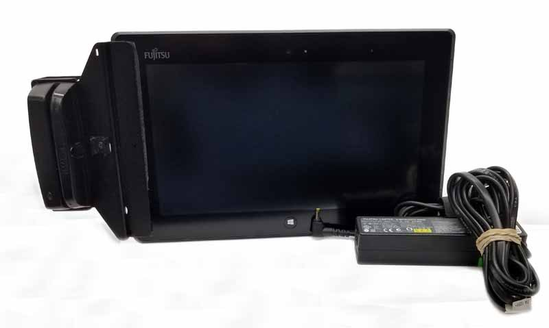 "Fujitsu Stylistic Q572 10.1"" Win 10 Tablet W/ Point of Sale Accessori"
