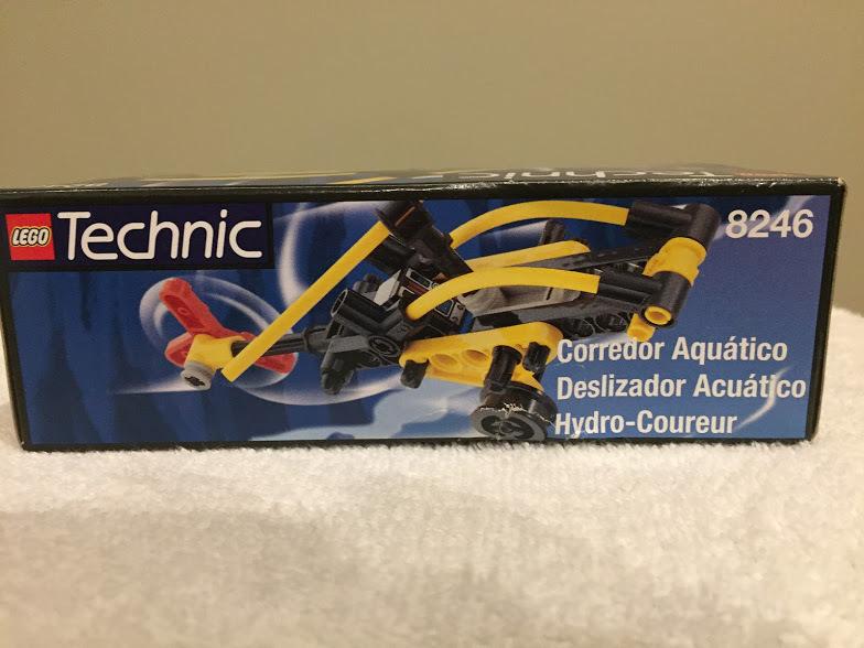 LEGO 8246 Technic Hydro Racer 1999 Factory Sealed - NIB