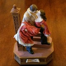 Gone With The Wind San Francisco Music Box Rhett And Scarlett On Stairs ... - $23.33