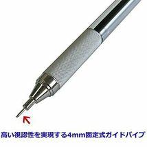 *Tombow Pencil mechanical pen MONO monograph zero 0.5 Silver DPA-162B image 8