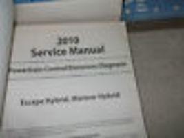 2010 Ford Escape Mercury Mariner & Hybrid Service Shop Repair Manual SET OEM image 8