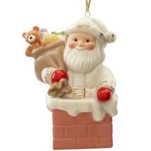 Lenox 2015 Santa Figurine Ornament Annual Santa's Gift Express Christmas... - $31.00