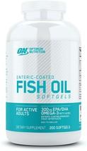 Optimum Nutrition Omega 3 Fish Oil Dietary Supplement, 300mg (200 Softgels) - $31.79