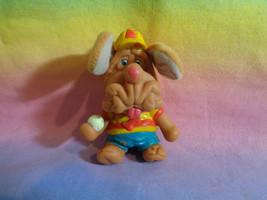 Vintage 1981-1986 Ganz Bros. Wrinkles Boy Dog Finger Puppet - as is very... - $6.88