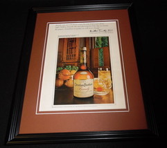 1972 Christian Brothers Brandy Framed ORIGINAL Vintage Advertisement B - $32.36