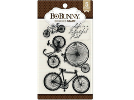 Bo Bunny Bicycles Clear Stamp Set #7310181