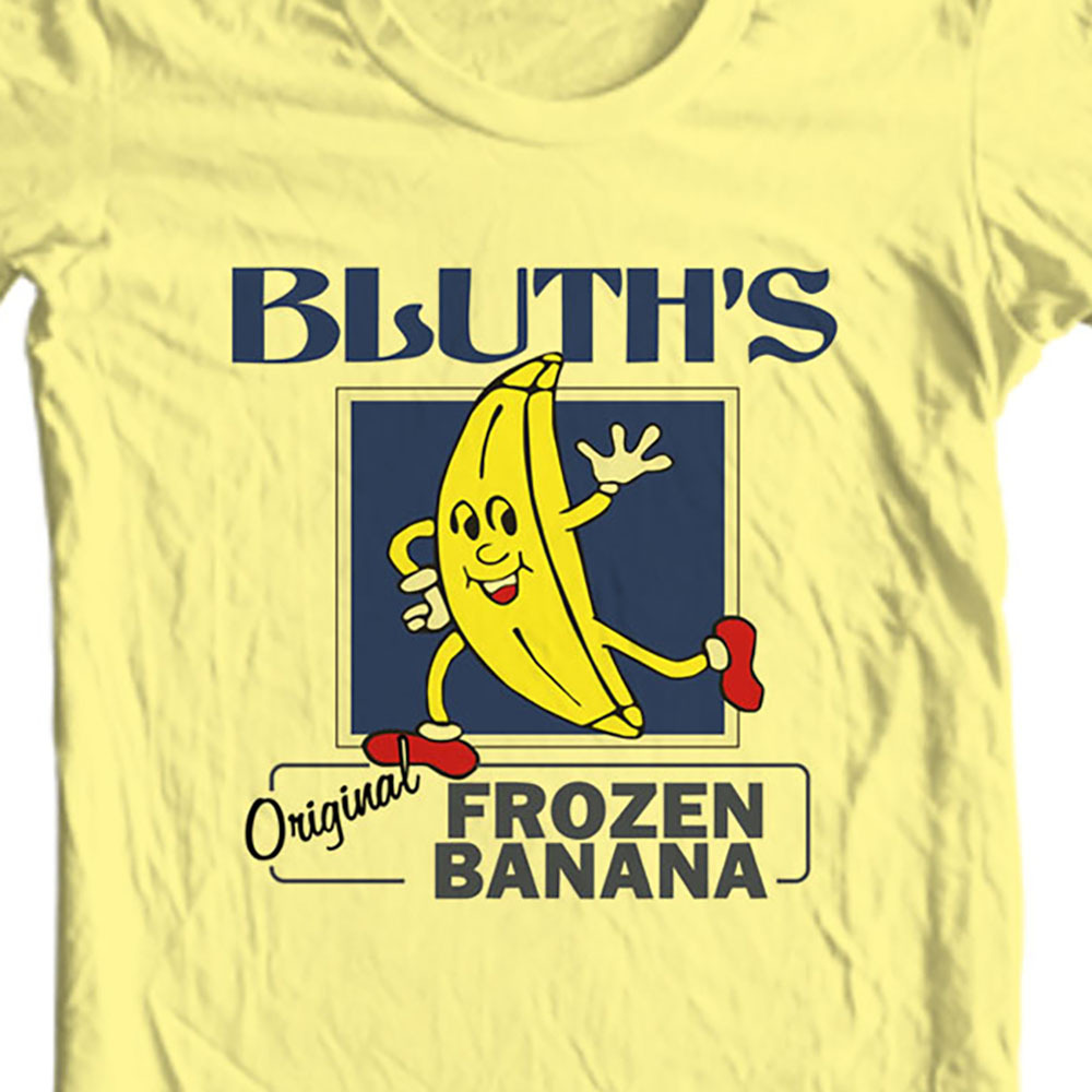 Bluth's Original Frozen Banana Stand t-shirt Arrested Development graphic tee