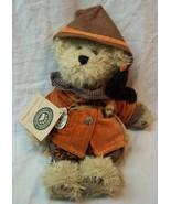"Boyds EINSTEIN Q. SCAREDYBEAR TEDDY BEAR SCARECROW 10"" Plush STUFFED Toy... - $24.74"
