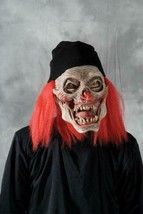 Clown Mask Monster Knit Cap Wig Spooky Scary Evil Halloween Costume M7007 - $83.51 CAD