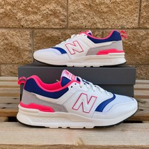 New Balance Classic Women's 997 WHITE/PINK/GREY Running Sneaker CW997HAJ US8.5 - $98.18