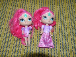 Shimmer and Shine Dolls ~ 6 inch ~ Lot of 2 ~ - $12.73