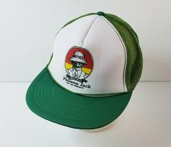Vintage NOS Original Panama Jack Suntan Trucker Hat Snapback Mesh Foam -... - $16.82