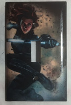 Comics Black Widow Light Switch Power Outlet Duplex Wall cover plate Home decor image 1