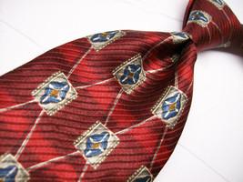 Nwt XMI 325 Red Art Nouveau  Mens 100 SILK Necktie  11-15* - $19.99