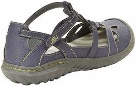 NEW JBU by Jambu Denim Blue Ladies' Sydney Flat Sandals for Women JB19SNY45 image 4