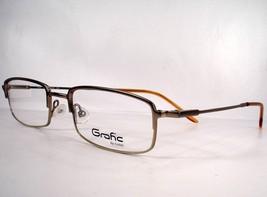 Cottet Graf 405C Taupe Brown Women Eyeglasses Metal 49-20-140 Designer - $29.69