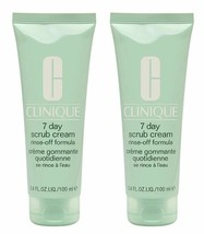 2 x Clinique 7 Day Scrub Cream Rinse-Off Formula - Full Size - u/b - $29.98
