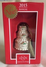 Lenox 2015 Our 1st Christmas Together Ornament Wedding Cake Anniversary Gift New - $29.95