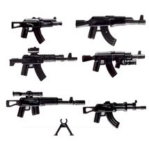 Military Swat Team Guns Weapon Pack Vest Dog Horse Building Blocks fit LEGO - $9.90