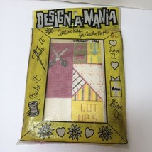 Scissor Case Needlepoint Kit Design-a-Mania  - $8.79