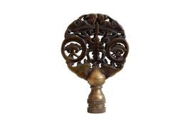 """Beautiful Vintage Style Hand Carved Brown Jade Longevity Lamp Finial 3"""" - $34.64"""