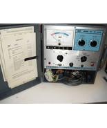 vintage   b&k    model   465   crt  tester   restorer  working - $94.99