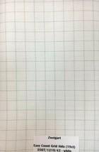 Zweigart Aida Easy Count Grid 18 Count Cross Stitch Fabric White Custom ... - $11.35+