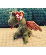 Ty SCORCH Beanie BabY Dragon bean bag toy RETIRED ORIGINAL 1998 - $27.99
