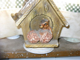 Charming Retro (1960s) Squirrel with Nuts Flower Planter - $9.95