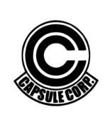 Dragonball Z DBZ Capsule Corp Logo Vinyl Decal window computer cellphone... - $2.35+