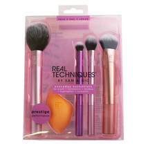 Real Techniques Everyday Essentials Brush Set 01786 - Foundation/Conceal... - $18.00