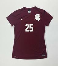 Nike Challenge Trojans Soccer Jersey Women's Medium 25 29 Maroon Red 645506 - $22.09