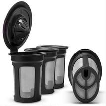 3 Pack Refillable K-Cup Coffee Filter Pod KEURIG 1.0 & 2.0 Single Serve ... - $7.19