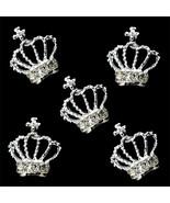 10pcs 3D Rhinestones Crown Shape Nail Art Tips Glitters Beads DIY Decor ... - $10.65