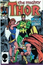 The Mighty Thor #359 Copper Age Collectible Comic Book Marvel Comics! - $3.19