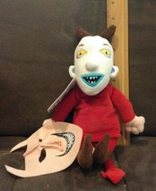 OFFICIAL DISNEY STORE NIGHTMARE BEFORE CHRISTMAS LOCK PLUSH DOLL WITHMAS... - $4.99