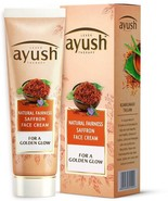 Ayush Natural Fairness Saffron Face Cream (50 g) ORIGINAL FREE SHIP - $12.42