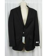 Jones New York Collection Mens Sports Coat Sz S38 W30 Black Athletic Fit... - $168.26