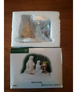DEPT 56 NORTH POLE VILLAGE - POLAR CARVING 799957 with BOX - $39.59