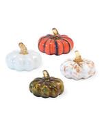 Four Little Glass Pumpkins in a Box  by Boston International - $42.52